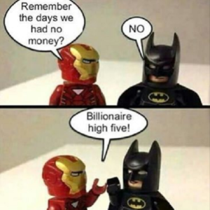Billionaire High Five