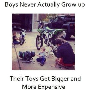 Boys Never Grow