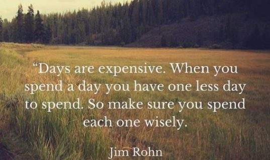 Days Are Expensive