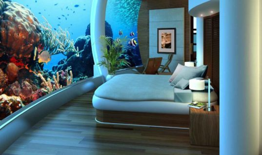 Inside the World's First Undersea Hotel:  Florida's Jules Undersea Lodge