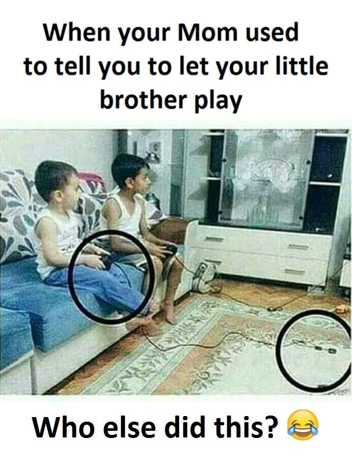 Funny Meme For Brother : Little brother play funny pictures quotes memes