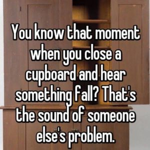 Close A Cupboard