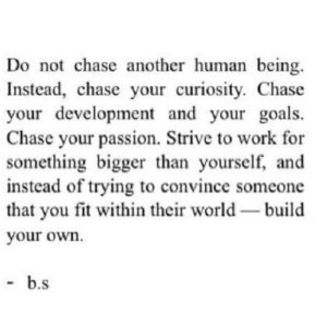 Do Not Chase