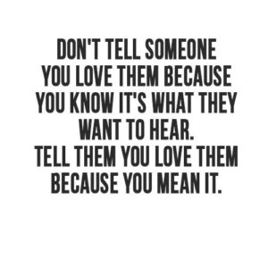 Don't Tell Someone