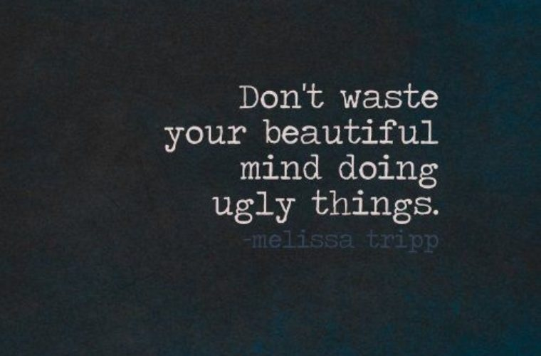 Don't Waste