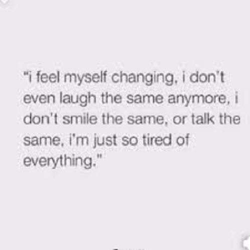Feel Myself Changing
