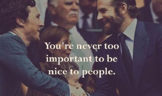 Nice To People