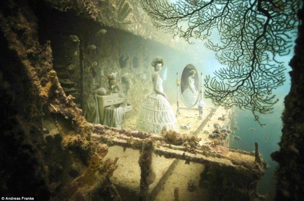 The Sinking World - Rococo style