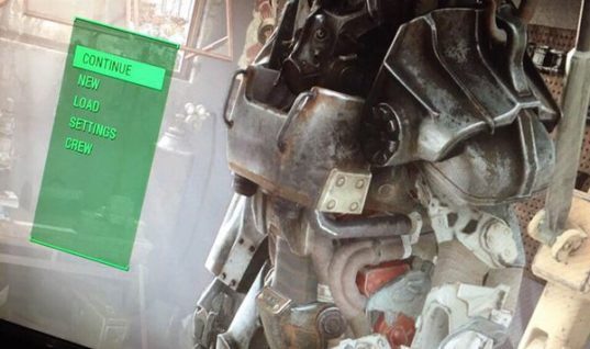 Fallout 4 Main Menu Leaked