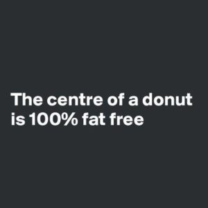Center Of Donut