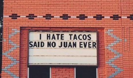 Hate Tacos