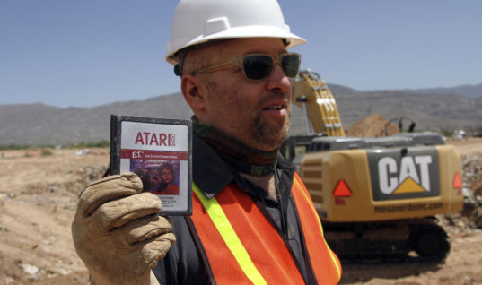 E.T Atari Cartridges Sell For $100,000