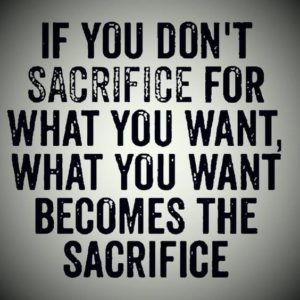 Don't Sacrifice