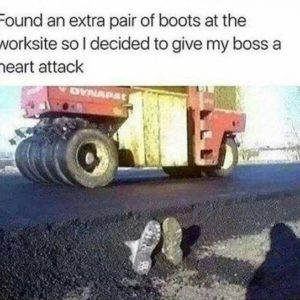 Extra Pair Of Boots