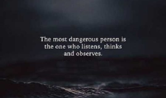 Most Dangerous Person