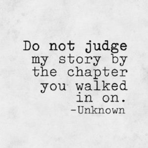 Not Judge