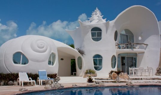 The Shell House: the Most Outstanding House in the Isla Mujeres, Mexico