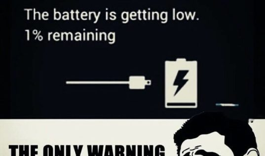 Battery Getting Low