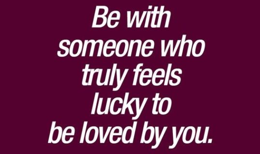 Be With Someone