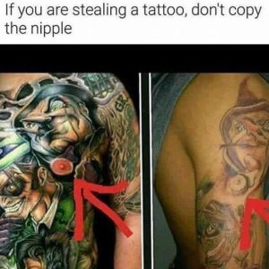 Stealing A Tattoo
