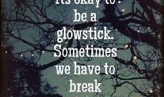 Be A Glowstick