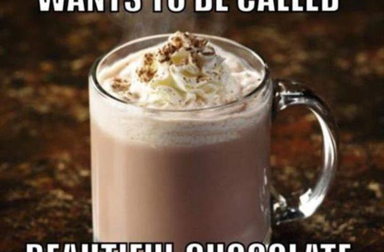 Hot Chocolate Funny Pictures Quotes Memes Funny Images Funny
