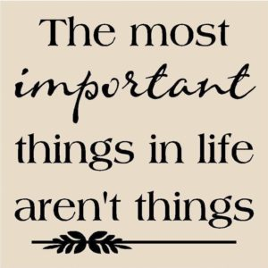 Important Things