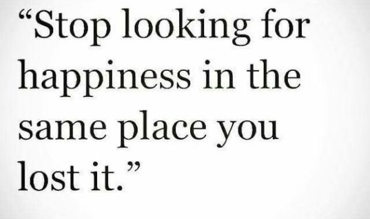 Looking for Happines