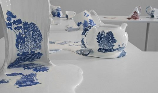 Strange Art Collection of Fluid Ceramic