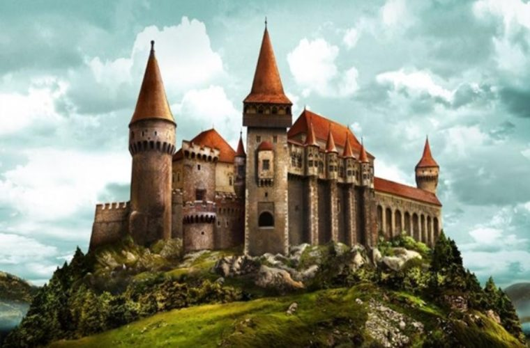 Legends on the Corvin Castle in Romania