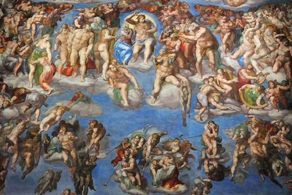 michelangelo- last judgement