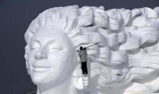 Ice and Snow Sculpture Festival of Harbin, China