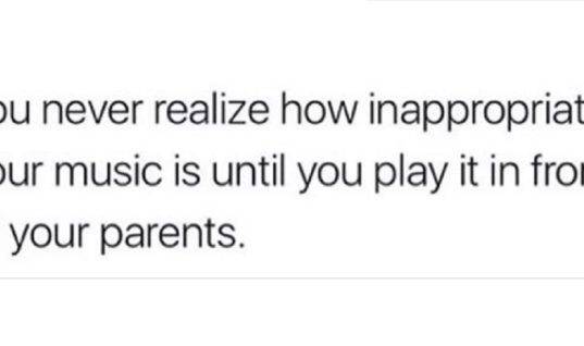 Inappropriate Music