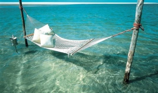 Water Hammock – lovely relaxing place