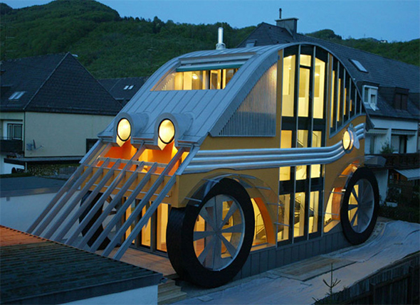 architecture houses design. Unique Architectural House Design Inspired By A Car Architecture Houses O