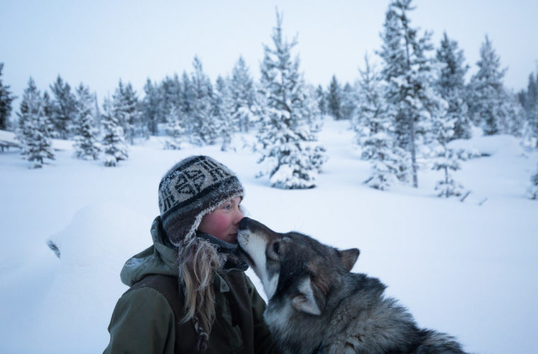 She Gave Up City Life To Live Off The Grid In The Finnish Wilderness.