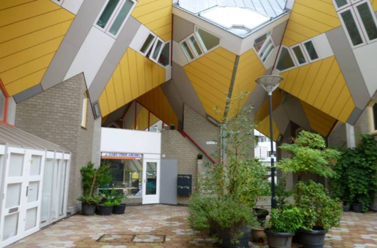 The Cubic Houses of Rotterdam are an Architectural Marvel