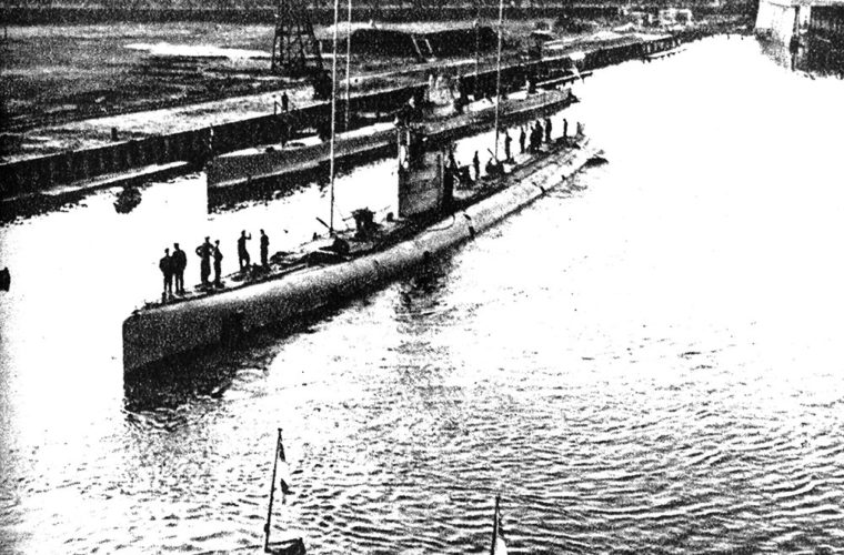 A German WWI U-Boat Was Discovered Off Belgium's Coast…With The Crew Still On Board