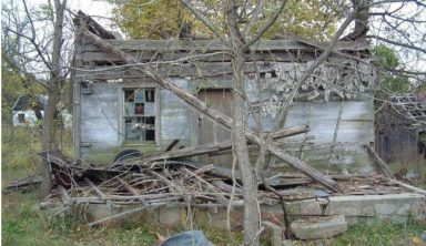 This Man Bought An Old Log Cabin for $100. What He Did With It Made Everyone Jealous!
