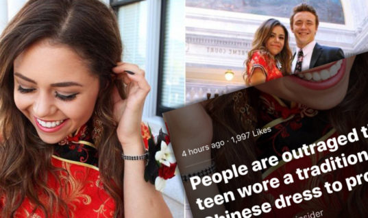 One Girl's Prom Ensemble Sparked Social Media Outrage, You Won't Believe How She Responds