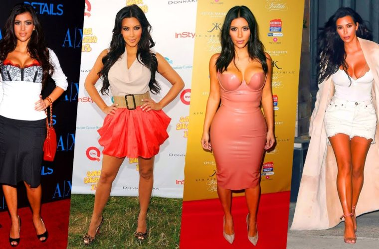 Watch Kim Kardashians Transformation Throughout The Years In These 30 Photos