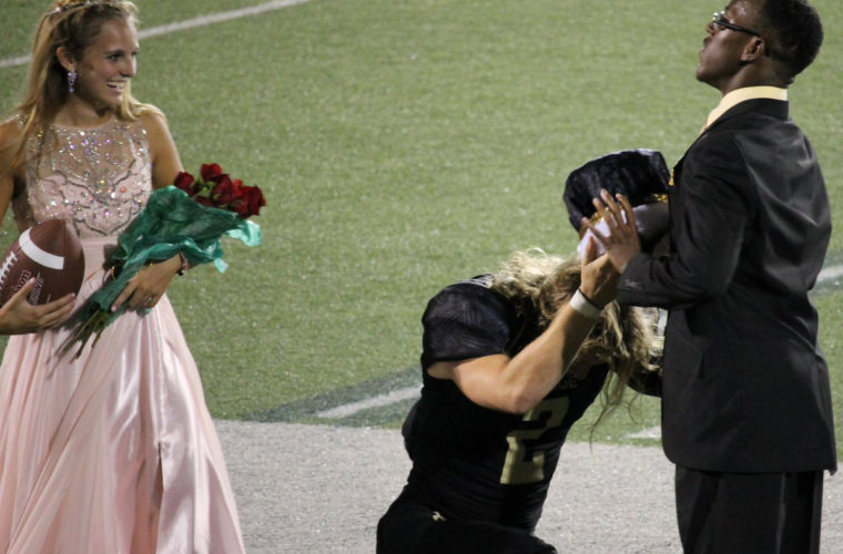 After The High School Quarterback was Crowned Homecoming King, What He Did Next Shocked His Classmates