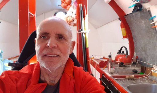 71-Year-Old Man Sets Sail Across The Atlantic — In A Barrel