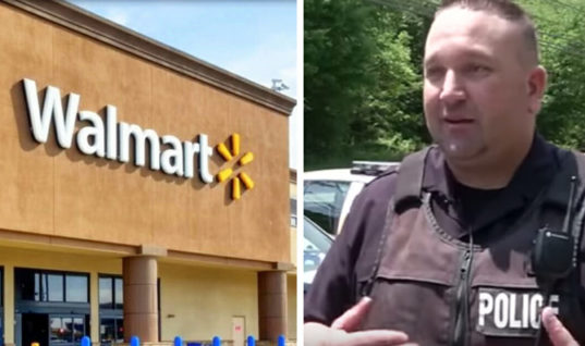 When a Father Struggled to Pay for His Grocery Bill, He Looks Up to See A Cop Coming