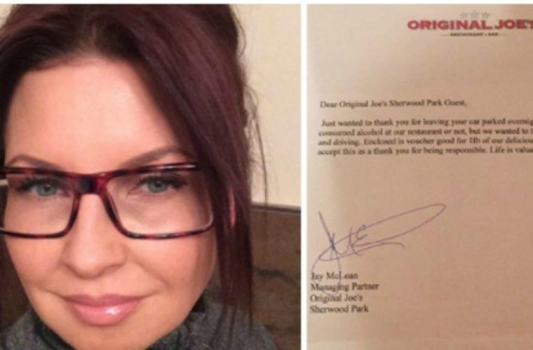 This Drunk Woman Left Her Car At Restaurant Overnight, She Returns to Find a Shocking Note