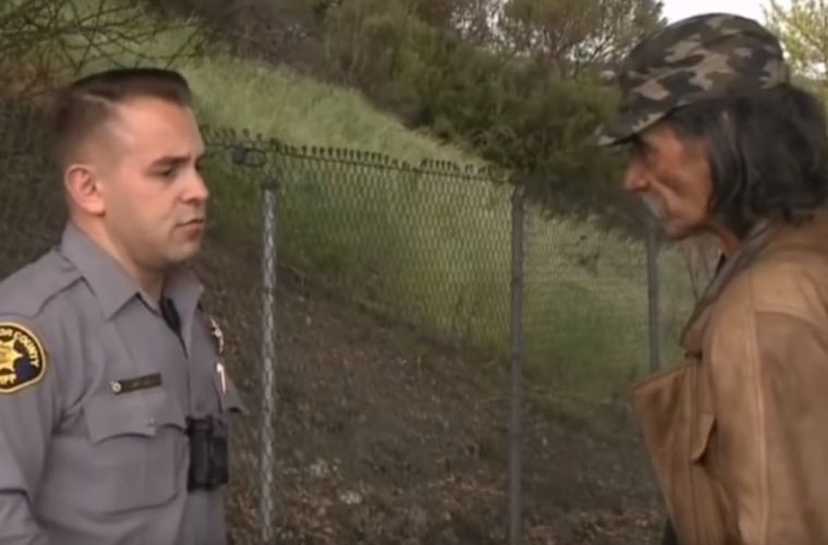 After 30 Years On The Streets, This Homeless Man Discovered His True Identity Thanks To A Police Officer