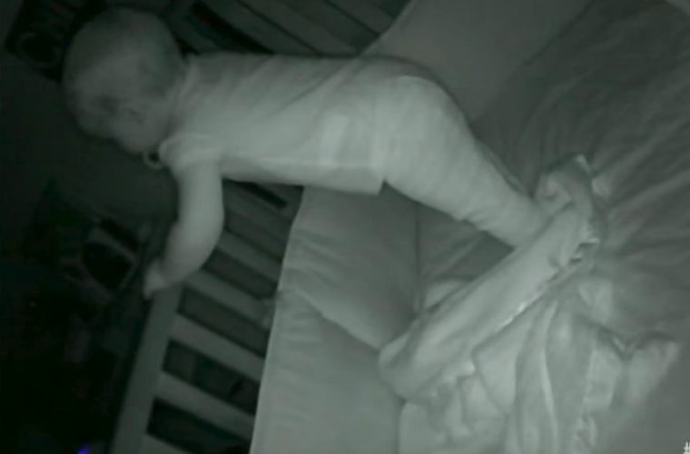 """Mom Hears Man Say """"Wake Up"""" on Baby Monitor. Then Realizes She Never Heard This Voice Before"""