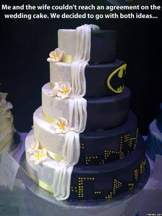 Disagreement On Wedding Cake Funny Pictures Quotes Memes Images Jokes Photos