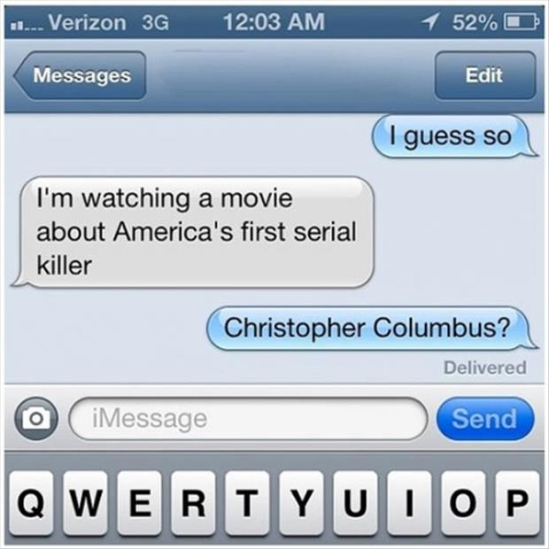 Americas First Serial Killer Funny Pictures Quotes