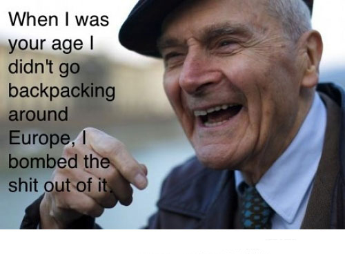 Old Man Vietnam War Funny Pictures Quotes Memes Funny Images Funny Jokes Funny Photos